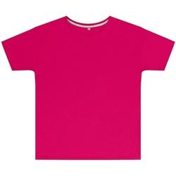 Textiel Kinderen T-shirts korte mouwen Sg SGTEEK Donkerroze