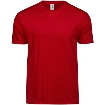 Textiel Heren T-shirts korte mouwen Tee Jays TJ1100 Rood
