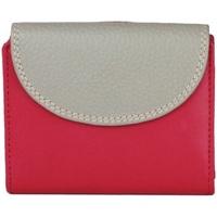 Tassen Dames Portefeuilles Eastern Counties Leather  Roze/Grijs