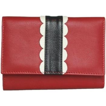 Tassen Dames Portefeuilles Eastern Counties Leather  Rood/zwart