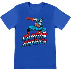 Textiel T-shirts & Polo's Captain America  Blauw