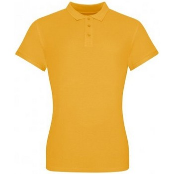 Textiel Dames T-shirts & Polo's Awdis JP100F Mosterd Geel