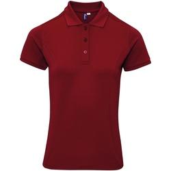 Textiel Dames T-shirts & Polo's Premier PR632 Bourgondië