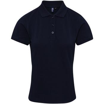 Textiel Dames T-shirts & Polo's Premier PR632 Marine