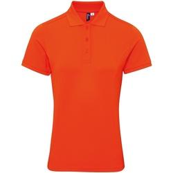 Textiel Dames T-shirts & Polo's Premier PR632 Oranje