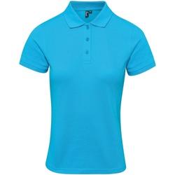 Textiel Dames T-shirts & Polo's Premier PR632 Turquoise
