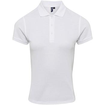 Textiel Dames T-shirts & Polo's Premier PR632 Wit