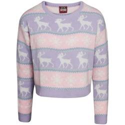 Textiel Dames Sweaters / Sweatshirts Christmas Shop  Roze/paars