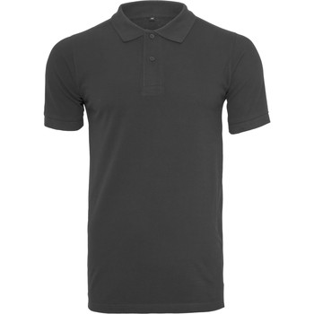 Textiel Heren T-shirts & Polo's Build Your Brand BY008 Zwart