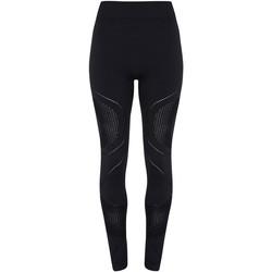 Textiel Dames Leggings Tridri TR207 Zwart