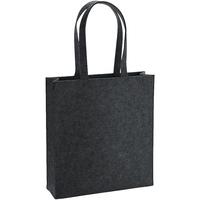 Tassen Schoudertassen met riem Bagbase BG723 Houtskoolmelange