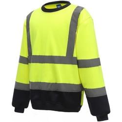 Textiel Heren Sweaters / Sweatshirts Yoko  Geel/Zwaar