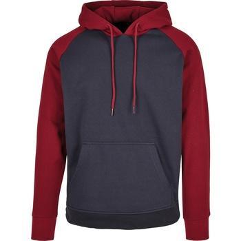 Textiel Heren Sweaters / Sweatshirts Build Your Brand BB005 Marine / Bourgondië