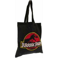 Tassen Dames Tote tassen / Boodschappentassen Jurassic Park  Zwart/Rood