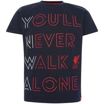 Textiel Kinderen T-shirts & Polo's Liverpool Fc  Marine / Rood