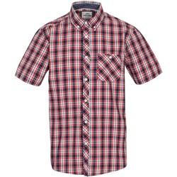 Textiel Heren Overhemden korte mouwen Trespass  Rood