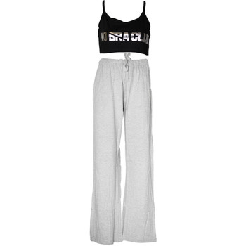 Textiel Dames Pyjama's / nachthemden Forever Dreaming  Grijs/Zwart