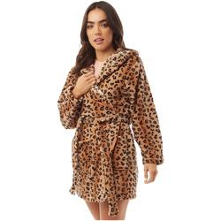 Textiel Dames Pyjama's / nachthemden Brave Soul  Luipaardmotief