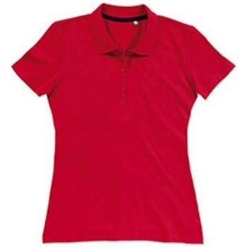Textiel Dames T-shirts & Polo's Stedman Stars  Karmijnrood