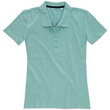 Textiel Dames T-shirts & Polo's Stedman Stars  Berijpt blauw