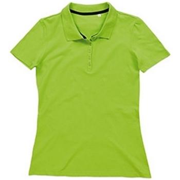 Textiel Dames T-shirts & Polo's Stedman Stars  Groene Flash