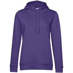 Textiel Dames Sweaters / Sweatshirts B&c WW34B Stralend paars