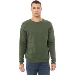 Textiel Heren Sweaters / Sweatshirts Bella + Canvas CA3945 Militair Groen