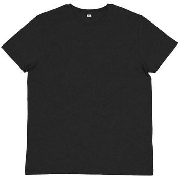 Textiel Heren T-shirts & Polo's Mantis M01 Houtskool Grijs Melange