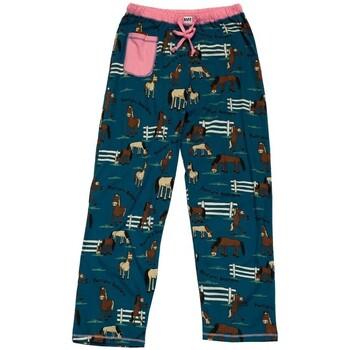 Textiel Dames Pyjama's / nachthemden Lazyone  Blauw