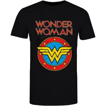 Textiel T-shirts & Polo's Wonder Woman  Zwart