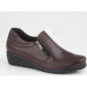 Schoenen Dames Derby Mod Comfys  Bourgondië