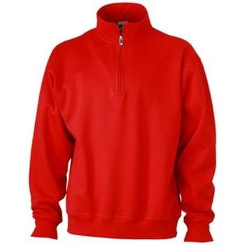 Textiel Heren Sweaters / Sweatshirts James And Nicholson  Rood