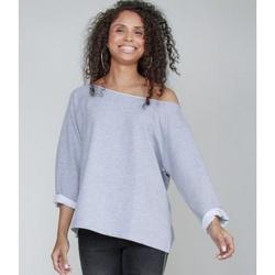Textiel Dames Sweaters / Sweatshirts Mantis M128 Heide-Mergel