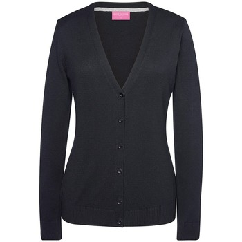 Textiel Dames Vesten / Cardigans Brook Taverner BK554 Zwart