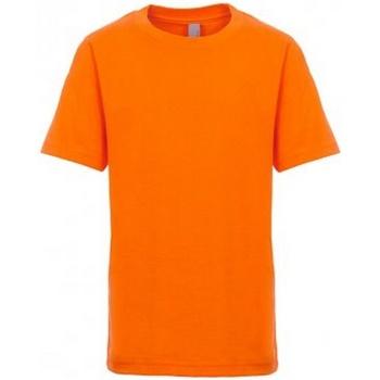 Textiel Kinderen T-shirts korte mouwen Next Level NX3310 Oranje