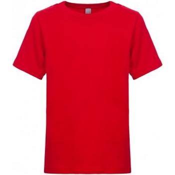 Textiel Kinderen T-shirts korte mouwen Next Level NX3310 Rood