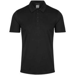 Textiel Heren Polo's korte mouwen Regatta RG2150 Zwart