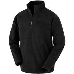 Textiel Heren Sweaters / Sweatshirts Result Genuine Recycled RS905 Zwart