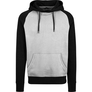 Textiel Heren Sweaters / Sweatshirts Build Your Brand BY077 Grijs/Zwart