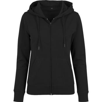 Textiel Dames Sweaters / Sweatshirts Build Your Brand BY069 Zwart