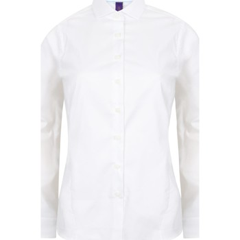 Textiel Dames Overhemden Henbury HB533 Wit
