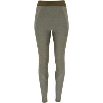 Textiel Dames Leggings Tridri TR212 Olijf
