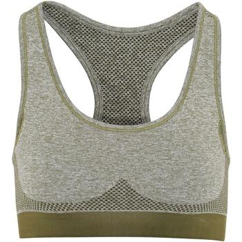 Textiel Dames Sport BH's Tridri TR210 Olijfgroen