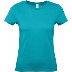 Textiel Dames T-shirts korte mouwen B And C B210F Echt Turquoise