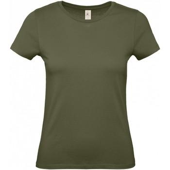 Textiel Dames T-shirts korte mouwen B And C B210F Stedelijke Khaki
