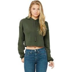Textiel Dames Sweaters / Sweatshirts Bella + Canvas BE7502 Militair Groen