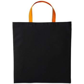 Tassen Schoudertassen met riem Nutshell RL130 Zwart/Oranje