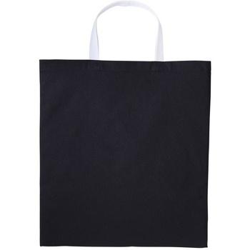 Tassen Schoudertassen met riem Nutshell RL130 Zwart/Wit