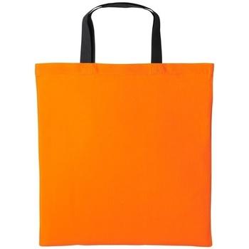 Tassen Schoudertassen met riem Nutshell RL130 Oranje/zwart
