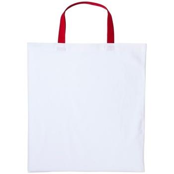Tassen Handtassen kort hengsel Nutshell RL130 Wit/rood